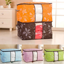 Large Underbed Bedding Pillow Storage Bags Quilt Luggage Container Case Pouch Vacuum Storage Bags Organizer Space Saver LLL(China)