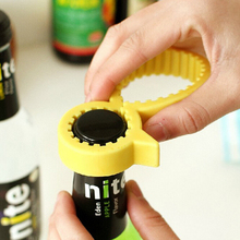 High quality Multi Non-slip Silicone Jar Bottle Opener Can Tin Opener Kitchen Tool(China)