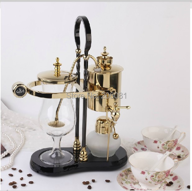 Royal belgium coffee maker/balancing siphon coffee maker/Balancing syphon coffee maker pot,450ml Vacuum Coffee Brewer<br><br>Aliexpress