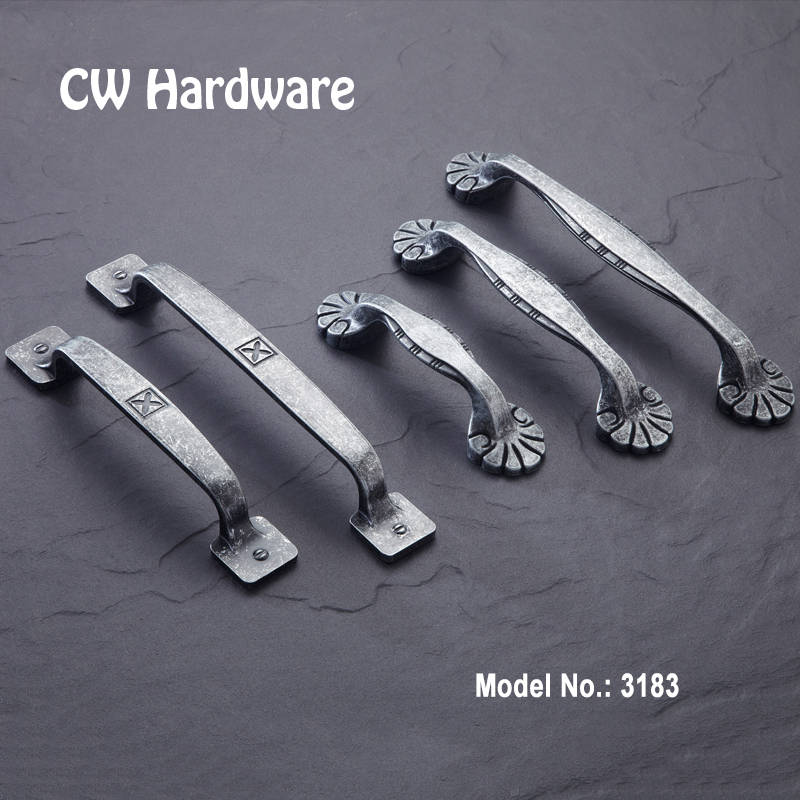 CW Hardware 2pcs 3183 Cabinet Handles For Vintage Furniture 96mm 128mm Wardrobe Drawer Pulls Free Shipping Knobs<br><br>Aliexpress