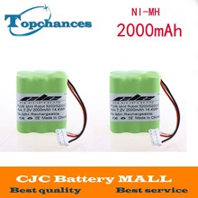 New arrival ! Free Shipping 7.2V 2000mAh Ni-MH Rechargeable Vacuum Battery for Mint 5200 5200C(China)