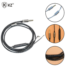 Buy Original KZ DIY Earpohone Cable DIY Replacement 1.2m Audio Cable Headphone Repair Wire Semi-finished Wired Control Cable for $4.05 in AliExpress store