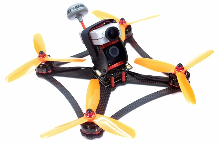 DIY FPV QAV-X5 GTS 5 190mm quadcopter 3K pure carbon fiber frame for T5045BN V2 propeller 3 blades mini racing drone<br>