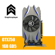 Graphics Card GTX 750 1024MB/1GB 128bit GDDR5 VGA Placa de Video carte graphique Video Card for NVIDIA Geforce PC fan(China)