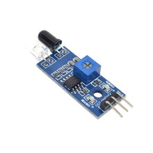 Smart Electronics New for Arduino Diy Smart Car Robot Reflective Photoelectric 3pin IR Infrared Obstacle Avoidance Sensor Module(China)