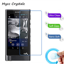 Nano Explosion-proof Soft Glass Protective Film Screen Protector Film for Sony NW-ZX2 MP3 Player Film(China)