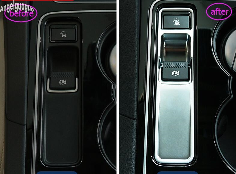 Yp Couvre-Volant int/érieur en ABS chrom/é pour VW Passat B8 2016-2018