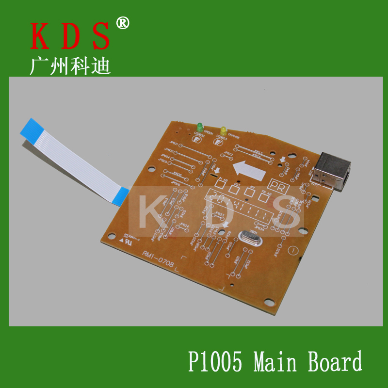 5 pcs/lot printer spare parts for HP P1005 laserjet parts  Main board in china<br><br>Aliexpress