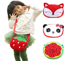 UP 10Models- Plush Backpack 22*16CM Kawaii Hello Kitty Etc. - Baby Kid's Kindergarten Satchel Messenger BAG , Plush Backpack