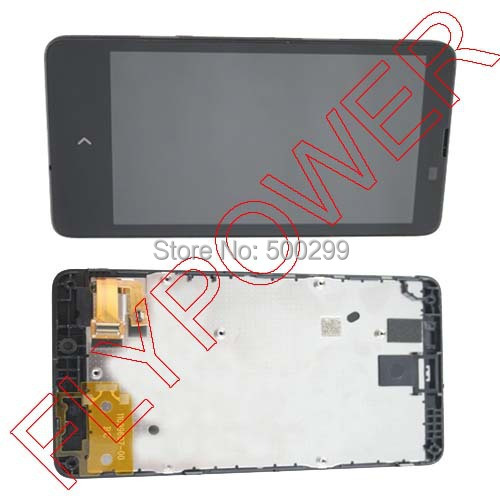 For Nokia X A110 RM-980 RM-1045 NX  LCD Screen Display  with Touch Digitizer + frame Assembly by free shipping; 100% new<br><br>Aliexpress