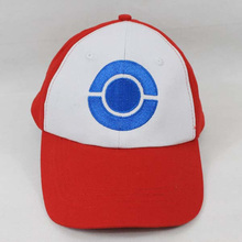 ASH KETCHUM Hat Visor Cap Anime Cartoon ASH KETCHUM Trainer Costume Cosplay Summer Hat Cap Gift