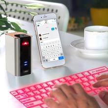 Professional Multi-Media Laser vitual Wireless Bluetooth Keyboard Portale Mini Bluetooth Stereo Speaker For Iphone