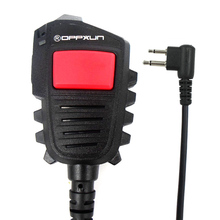 Double PTT Handheld Speaker Microphone for Motorola Walkie Talkie GP300 GP88 GP88S GP2000 GP68 CP040 CP200 for HYT TC500 Radio