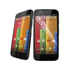 Hot Sale Power Support Anti-Glare Screen  Protector Film Set for MOTO G
