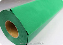 CDF-09 Green color heat transfer film flock material for textiles and clothing transfer free shipping(China)