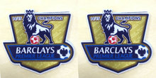 2 pcs 14 15 EPL Premier League goalden champion soccer patch for Chelsea 2015-2016 season game soccer Badges free shipping