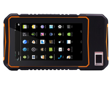 handheld PDA Android 5.1 Rugged Tablet PC  4G lte Waterproof Phone Fingerprint Reader UHF RFID 5M Long Range 2D barcode scanner