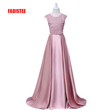 New Arrival Pretty Flower Girl Dresses appliques Baby Girl Dress with bow sashes floor length long style dresses(China)