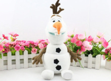 11.8inch High Quality Olaf Plush Kids Toys Kawaii Snowman Cartoon Plush Doll Boy & Girls Christmas Gifts Doll Collection