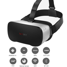 Hot V3 All In One Headset Allwinner H8VR Octa Core 5.5 Inches 1080P FHD Display VR Immersive 3D Glasses Virtual Reality Headset