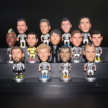 Soccerwe Italy European Soccer Star Lovely Action Figures Toys Fans Collection Football Dolls Gift Pogba Higuain Dybala Buffon(China)