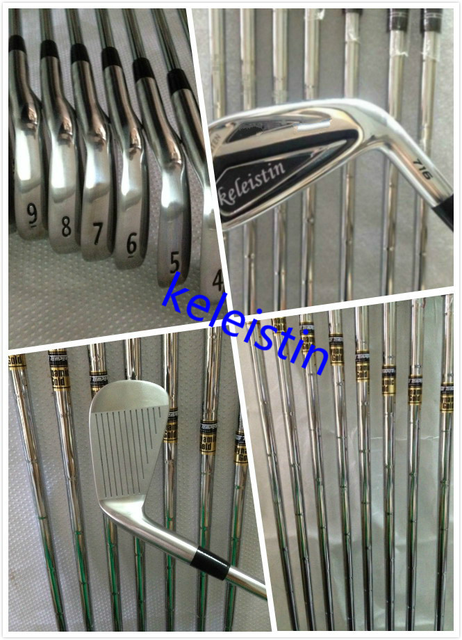 Keleistin Golf Irons Clubs ap2 716 JPX900 Golf Forged Irons With Steel Shafts Golf Irons Brand G30 Ap2 JPX X2HOT CB sets(China (Mainland))
