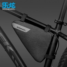 Buy ROSWHEEL Bicycle Bike Bag Waterproof 1.5L Outdoor Cycling Bag Front Frame Head Pipe Triangle Bag Storage Pouch Black for $17.99 in AliExpress store
