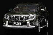Diecast Car Model Toyota Land Cruiser Prado Without Decal 1:18 (Green) + SMALL GIFT!!!!!