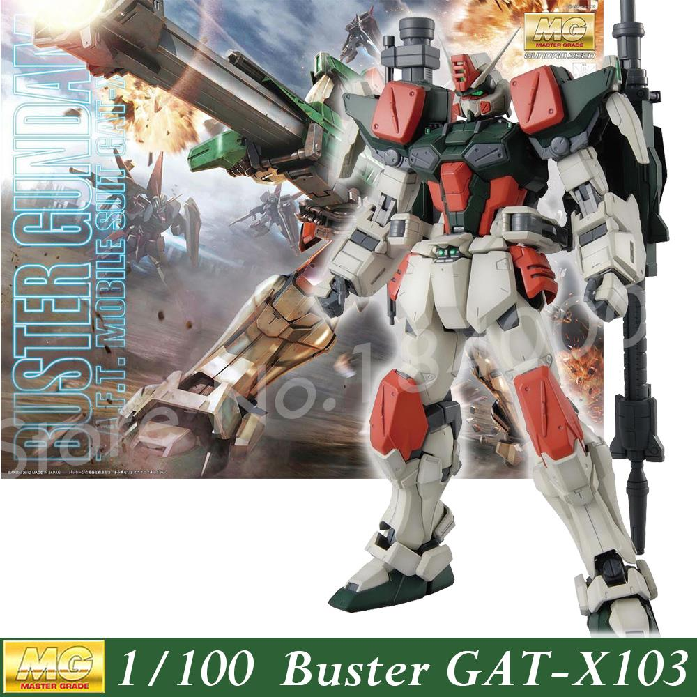 Daban Model Gundam Seed 1:100 MG GAT-X103 Buster Fighter Storm Robot Action Figure Assembled Anime Character Z.A.F.T Japan<br>
