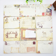 12 pcs/lot  Mini Cute Kawaii Paper Envelope Retro Vintage European Style For Card Korean stationery Free shipping 804