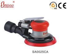 Central Vacuum 5inch Pneumatic Air Random Orbital Sander with 2.5mm / 5mm Orbit for 5inch Sanding Backup Pad (SA0025CA)(China)