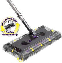 SWSMAX Max Cordless Swivel Sweeper G8 Electronic Spin Broom Hand Push Sweeper(China)