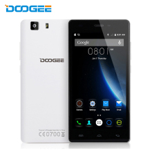 Doogee X5 mobile phones 5.0 Inch HD 1GB RAM+8GB ROM Android 6.0 Dual SIM MT6580 Quad Core 1.0Ghz 2400mAH WCDMA WIFI Cellphone
