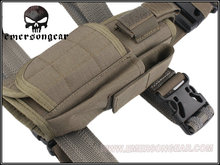 EMERSON 1000D Tactical Handgun Pistol Thigh Holster FG Color Hunting  Party Supplies