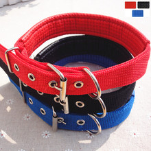 2017 Fashion Dog Collar Colorful Foam Pet Collar Small Dog Cat Pet Training Traction Circle Pet accessories Supplies(China)