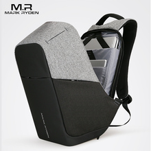 Multifunction USB charging Men 15inch Laptop Backpacks For Teenager Fashion Male Mochila Leisure Travel backpack anti thief(China)