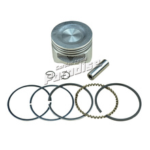 GX35 Brush Cutter Piston Set Diameter 40mm with Piston Ring Kit for Trimmers Engine Motor Replace Parts