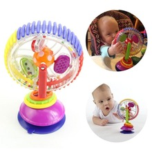 Sassy Wonder Wheel Sky Wheel Baby Multi-touch Inspire Senses Toys For Baby Kids