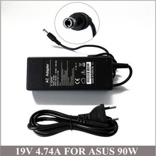 19V 4.74A 90W AC Adapter Laptop Charger  For Netbook Asus X53S X56S X58Le X58C X59 X59SR X82Q