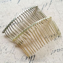 80*40MM 20PCS (Vintage bronze & Light gold) Metal Hair Comb Claw Hairpins DIY Hair Accessories Findings & Components