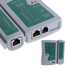 Professional Networking Testing RJ45 RJ11 CAT5 UTP LAN Cable Network Tester Tool(China)