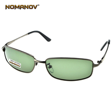 NOMANOV BRAND Custom Made NEARSIGHTED MINUS PRESCRIPTION Shield FULL RIM GREY GOOGLE MENS Designer Polarized sunglasses -1 to -6