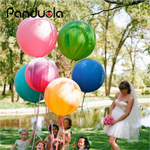 "10pcs 18"" Huge Latex Ballons or Tissue Garland Wedding Decoration Super Big Balloon For Party,Birthday,Carnival wedding balloon(China)"