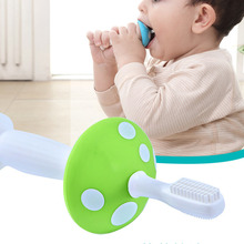 Baby Silicone Toothbrush Lovely Baby Training Toothbrush Kids Teether Training Tools