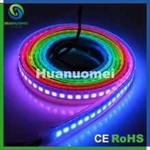 IP67 waterproof flexible led strip light digital ,144pixels/m led strip display for high definition screen(China)
