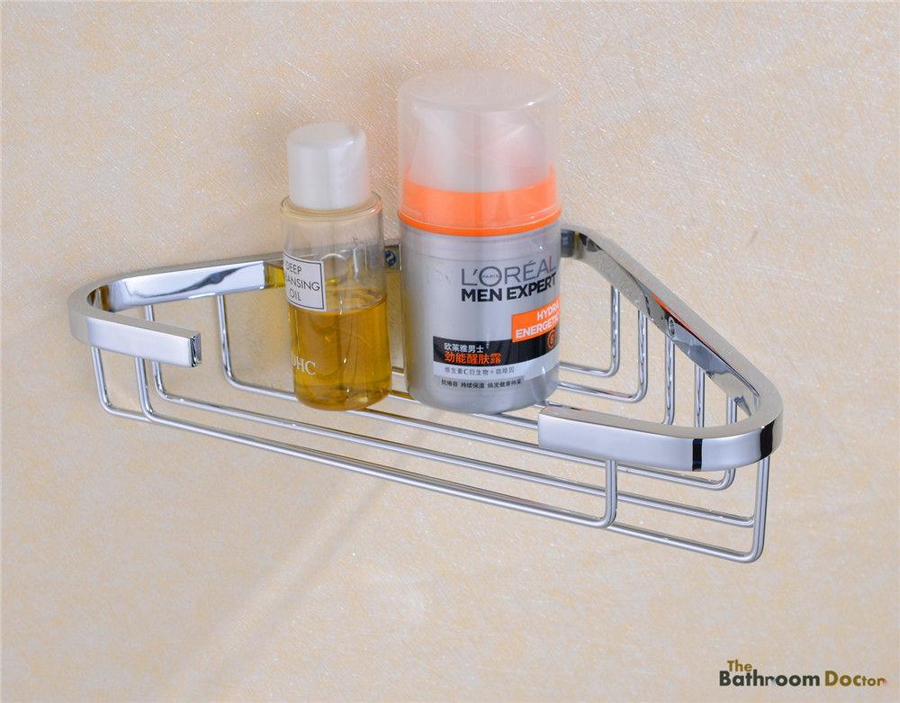 Bath Caddies Shower Wall Corner Shelves Baskets, Stainless Steel Chrome 09-007<br><br>Aliexpress