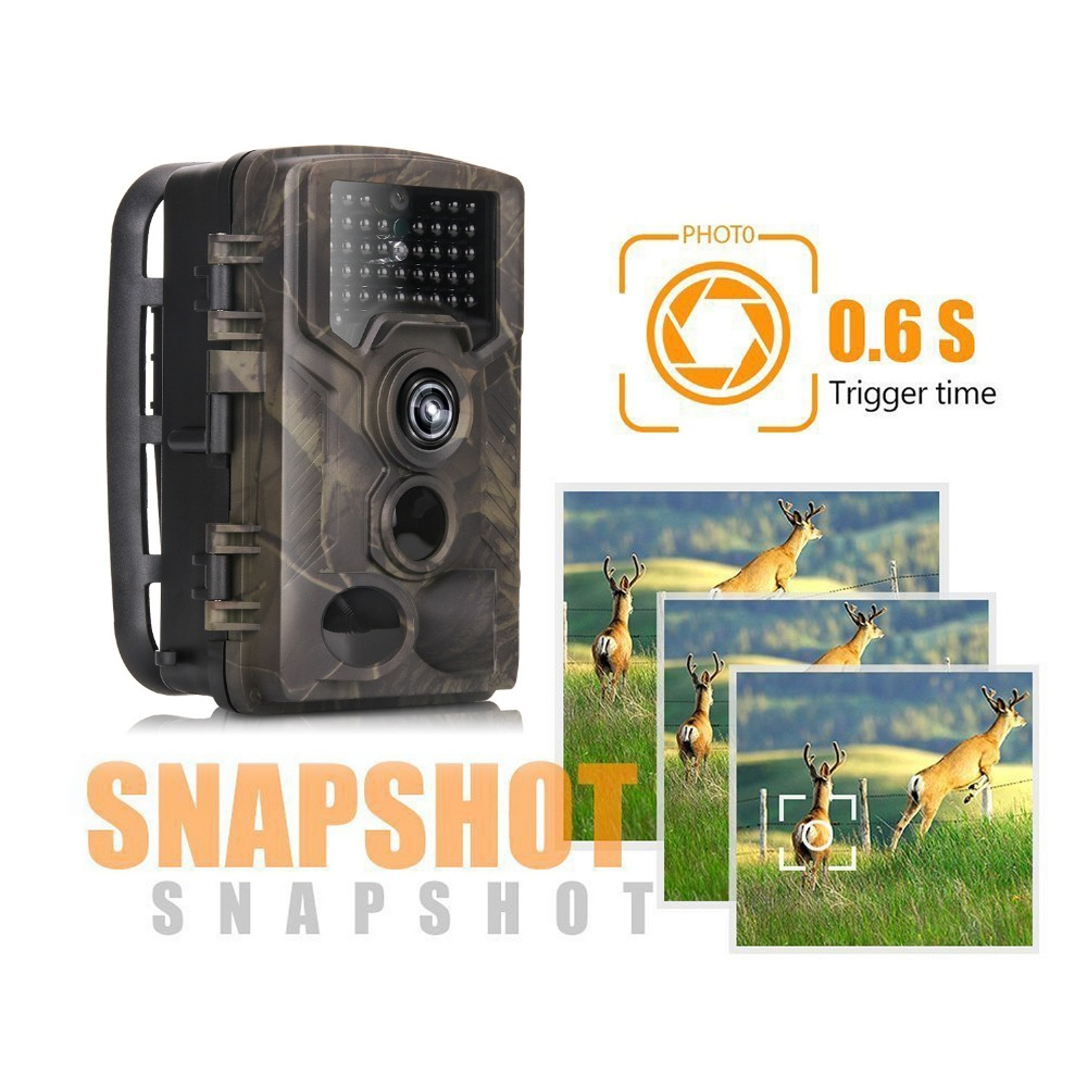 HC-800M 12MP 1080P Wildlife Camera Photo Traps Night Vision Trail Camera 2G GSM GPRS MMS SMTP Game Hunting camera 6