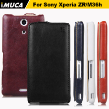 for Sony Xperia ZR case cover for sony xperia zr C5502 C5503 M36h phone cases imuca mobile phone bag with retail package(China)
