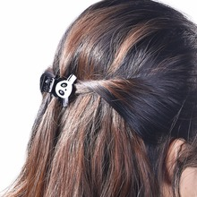 Korean Cute Small Mini Panda Animal Hair Claws Kids Girls Gift Acrylic Ponytail Fringe Hair Jaw Clips Grasp Accesories FZ05(China)
