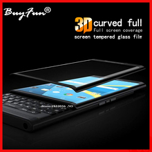 "3D Full Curved Tempered Glass Film For BlackBerry Priv 5.4"" Screen Protector For BlackBerry Priv Phone high clear Film Glas Case(China)"
